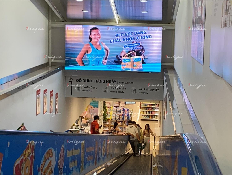 Sữa đậu nành Fami quảng cáo màn hình Led ngoài trời và trong nhà ra mắt sản phẩm mới