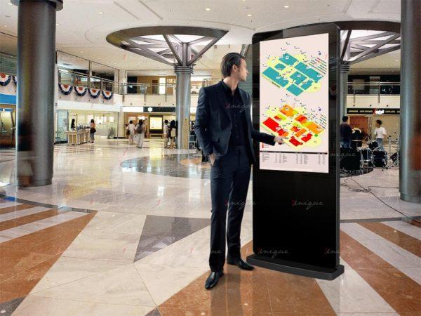 Màn hình LCD chân đứng cảm ứng