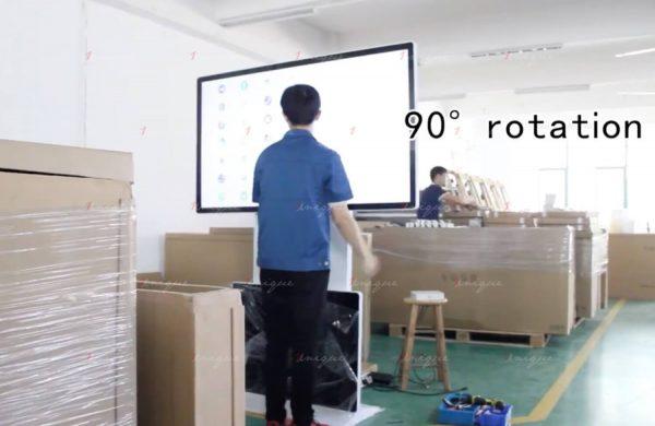 Màn hình LCD chân đứng xoay 360 độ
