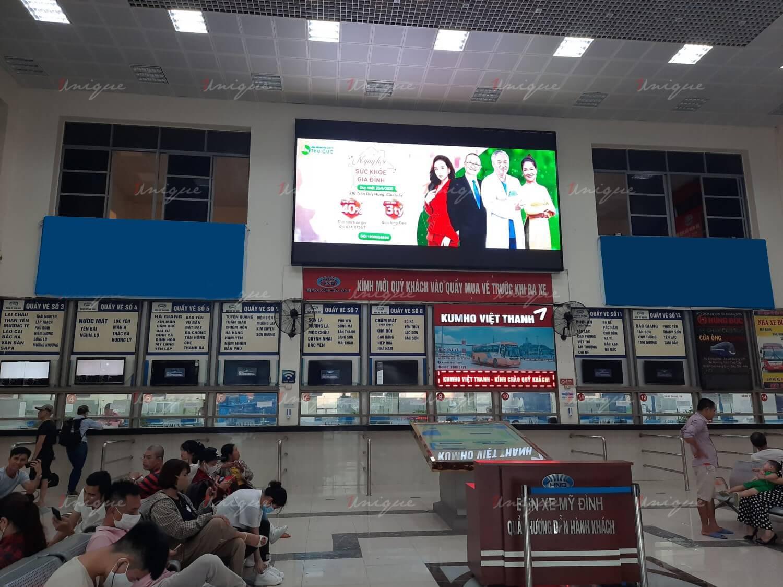 địa điểm thi công lắp đặt màn hình quảng cáo