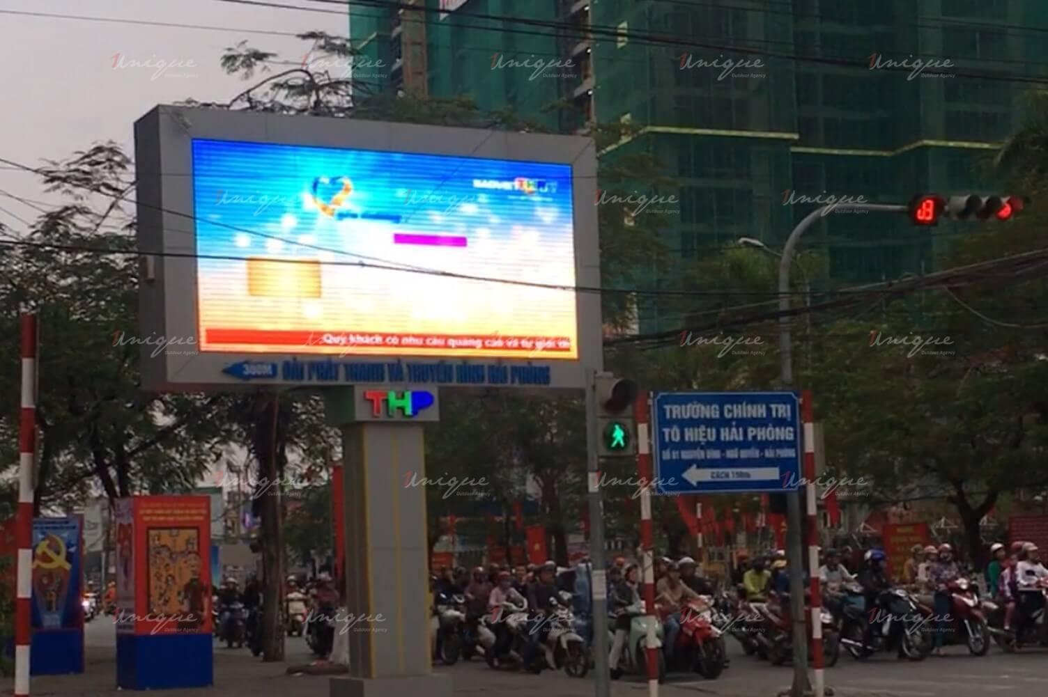 Thi công quảng cáo màn hình Led ngoài trời tại nhiều tỉnh thành cho Bảo Việt Nhân thọ