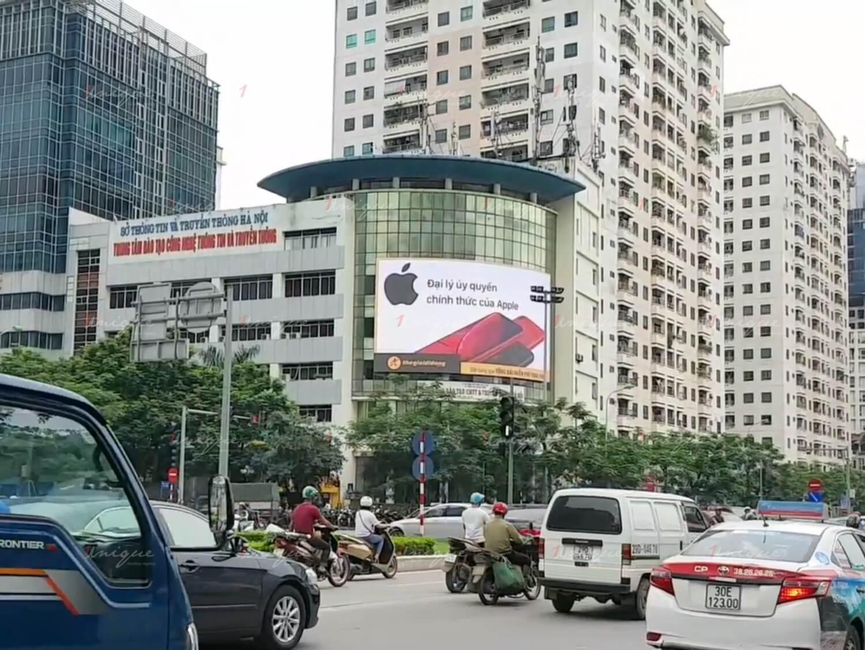 thế giới di động quảng cáo màn hình led ngoài trời